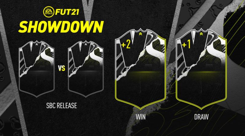 FIFA 21: sfide creazione rosa Showdown