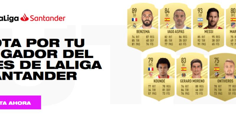 FIFA 21: candidati POTM Liga Santander dicembre