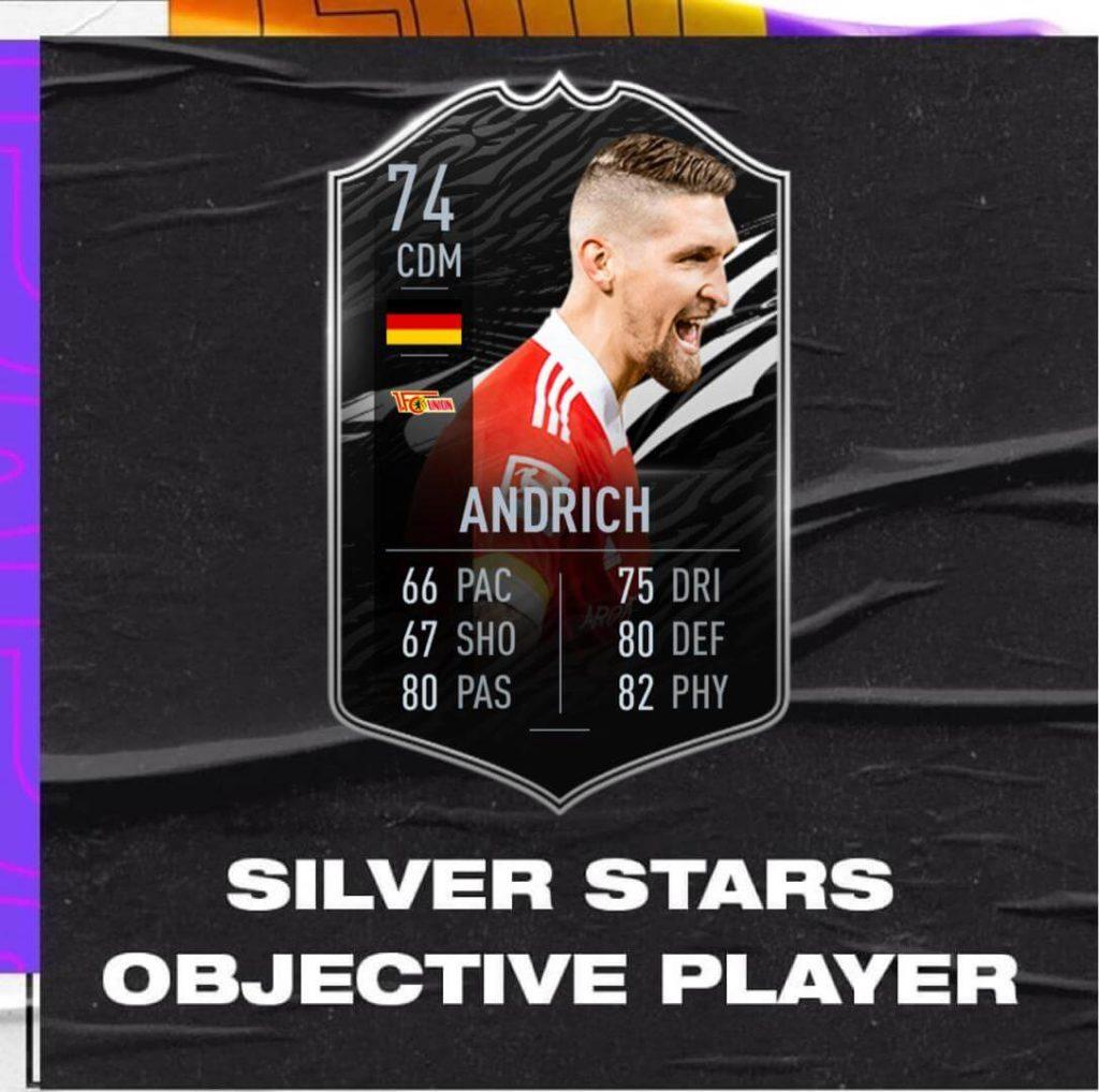 FIFA 21: Andrich TOTW 16 Silver Star