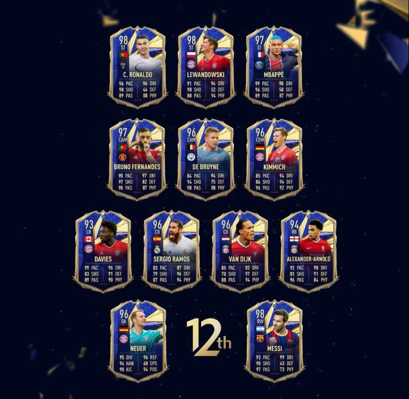 FIFA 21: Messi 12° TOTY