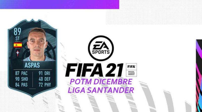 FIFA 21: Iago Aspas POTM SBC
