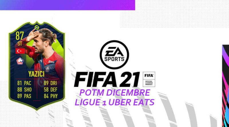 FIFA 21: Yazici POTM Ligue 1 SBC