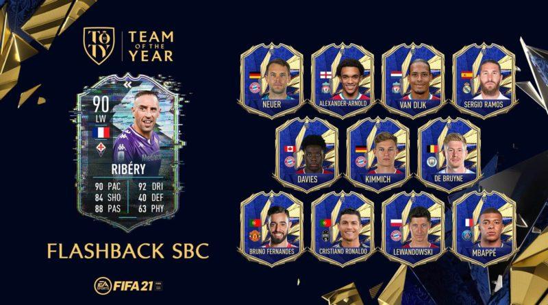 FIFA 21: Ribery flashback TOTY SBC