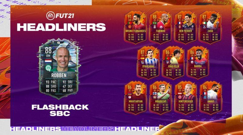 FIFA 21: Robben flashback SBC