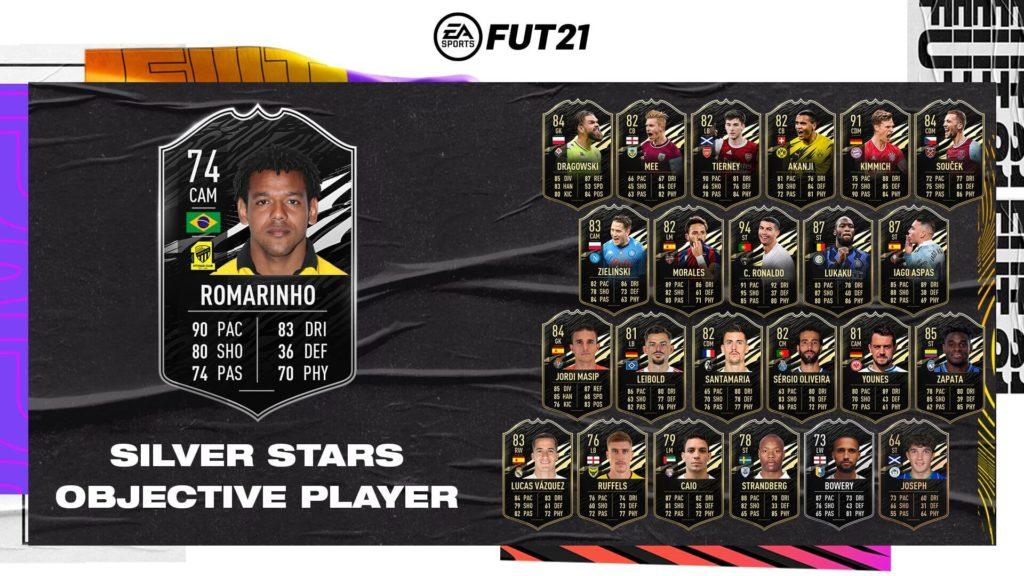 FIFA 21: Romarinho TOTW Silver Stars
