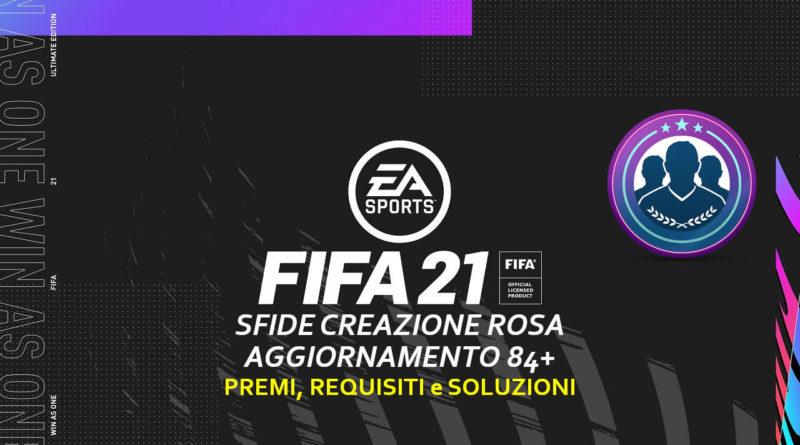 FIFA 21: SBC aggiornamento 84+ garantito