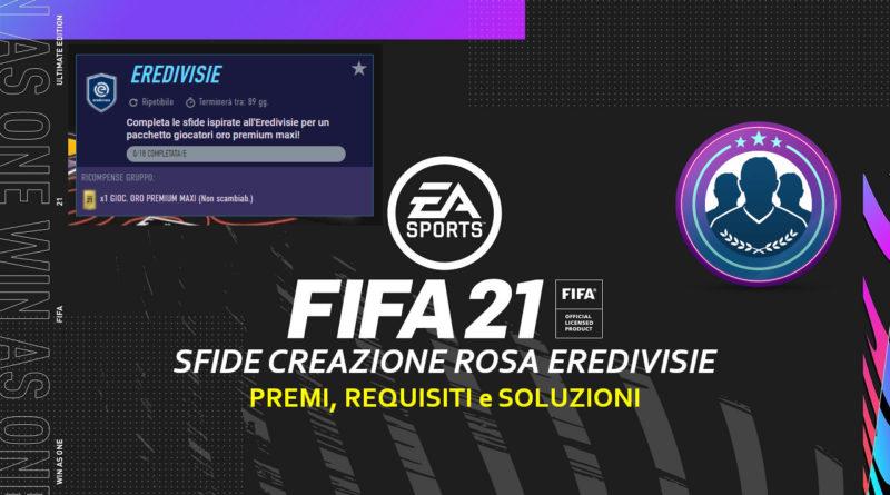 FIFA 21: SCR Eredivisie