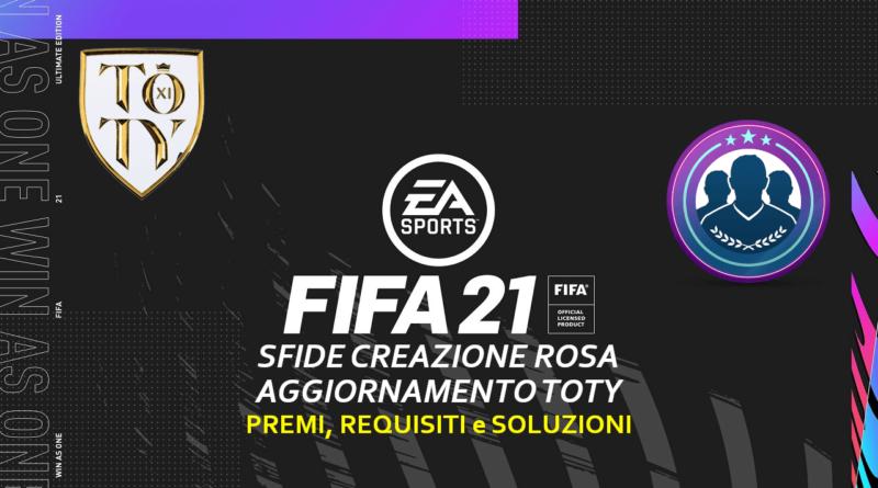 FIFA 21: SCR aggiornamento TOTY