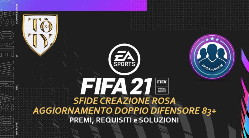 FIFA 21: SCR aggiornamento doppio difensore 83+ TOTY