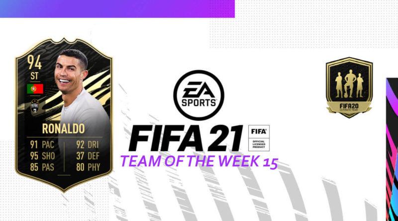 FIFA 21: Team of the Week 15