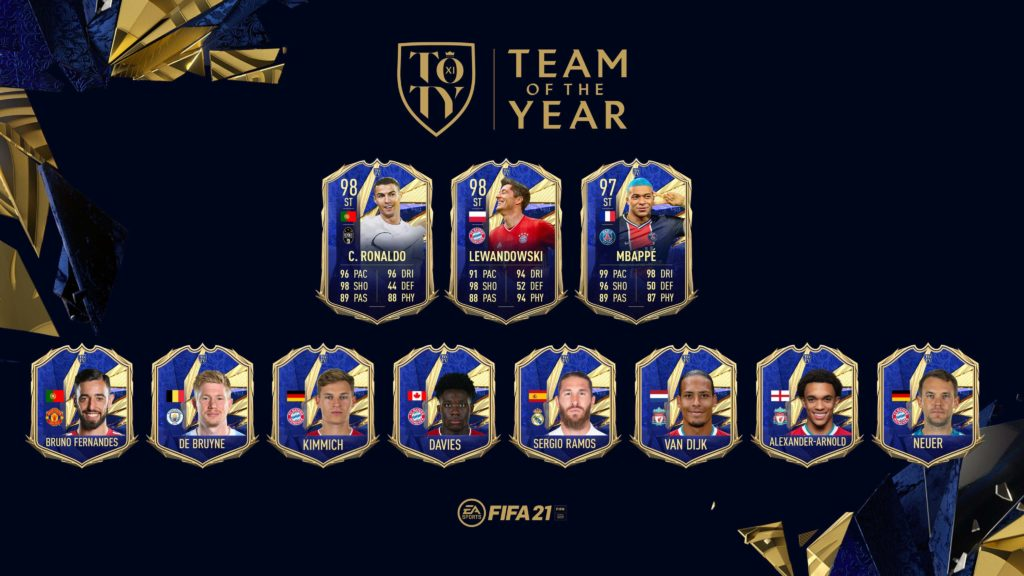 FIFA 21: Team of the Year