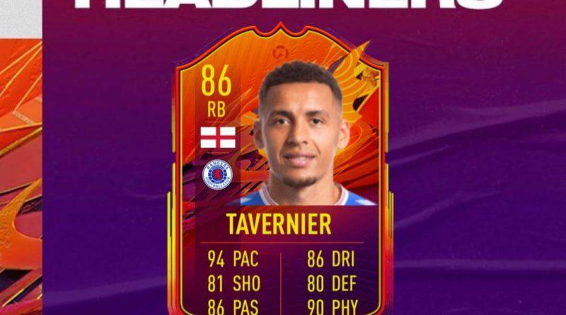 FIFA 21: Tavernier Headliners SBC