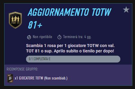 FIFA 21: SCR aggiornamento TOTW 81+