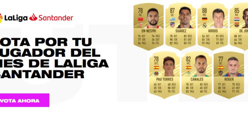 FIFA 21: candidati POTM di gennaio in Liga Santander