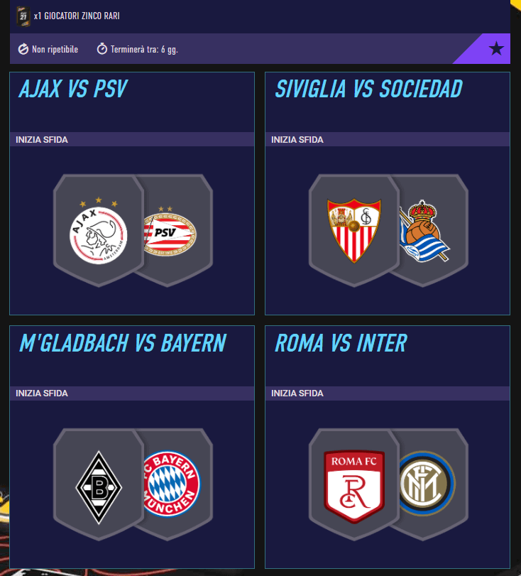 FIFA 21: SCR incontri principali del 7 gennaio