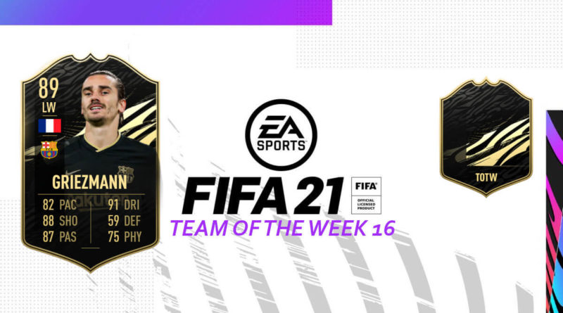 FIFA 21: Team of the Week 16