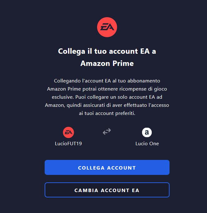 Come collegare l'account Amazon a Twitch