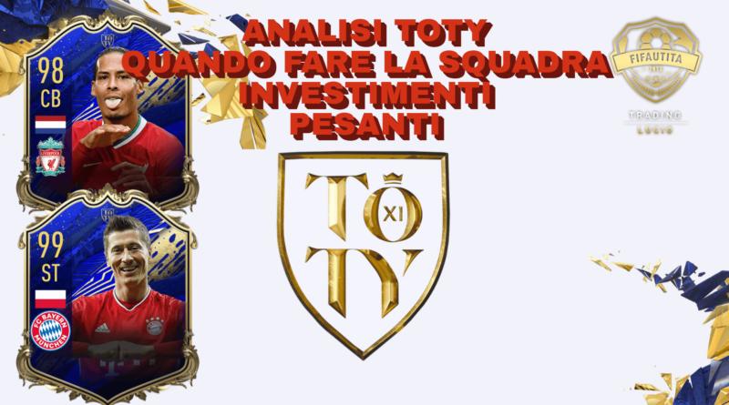 FIFA 21: investimenti TOTY, analisi mercato e quando fare la squadra