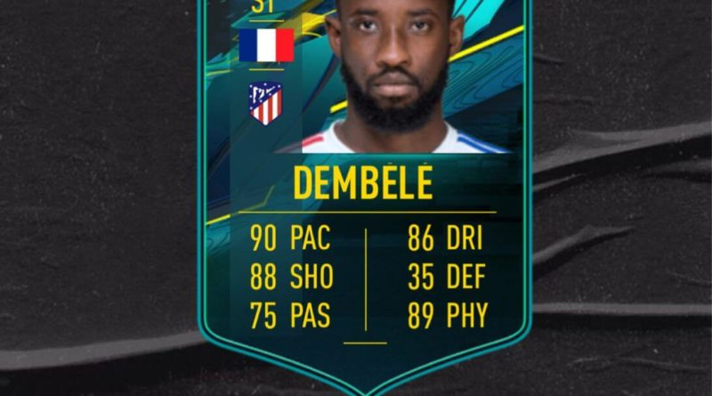 FIFA 21: Moussa Dembele player moments SBC