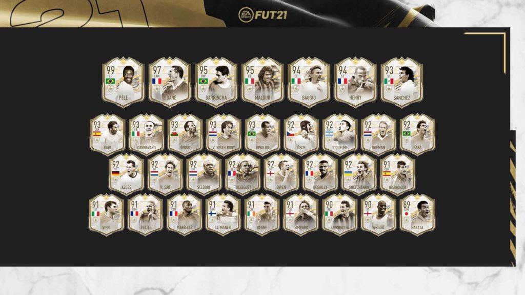FIFA 21: Icon Prime Moments SET 3
