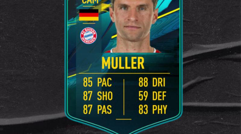 FIFA 21: Thomas Muller player moments SBC