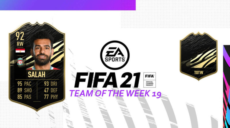 FIFA 21: Team of the Week 19