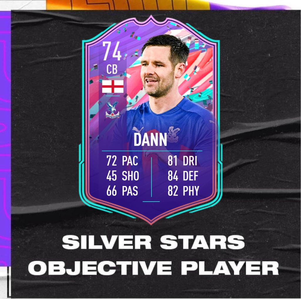 FIFA 21: Dann Silver Stars player objective