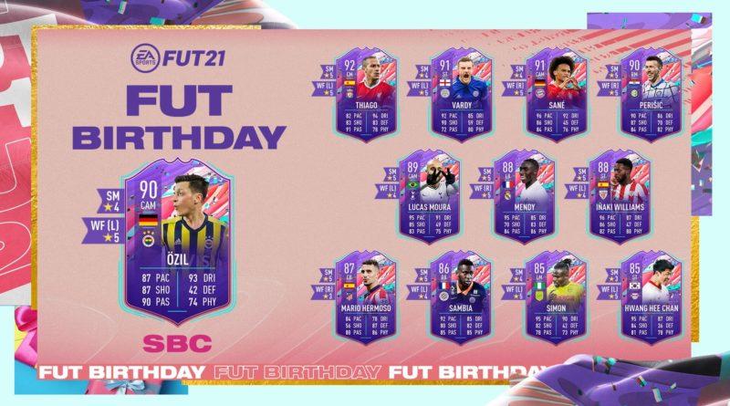FIFA 21: SCR Ozil FUT Birthday SBC