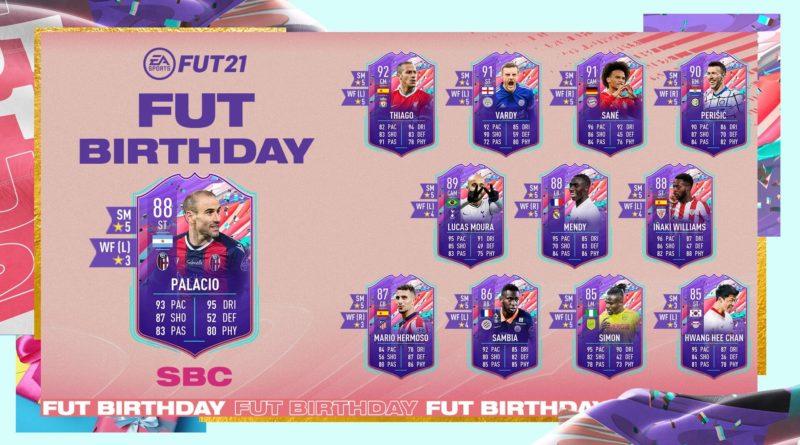 FIFA 21: Rodrigo Palacio FUT Birthday SBC