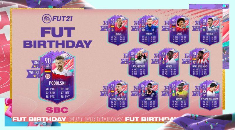 FIFA 21: Podolski FUT Birthday SBC