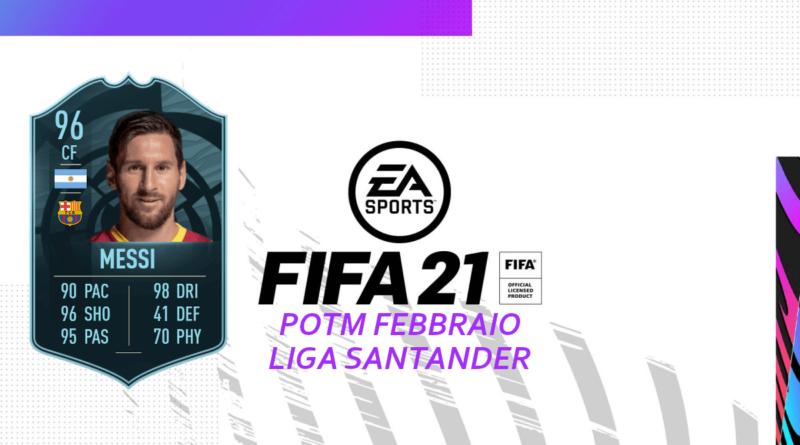 FIFA 21: SCR Messi POTM