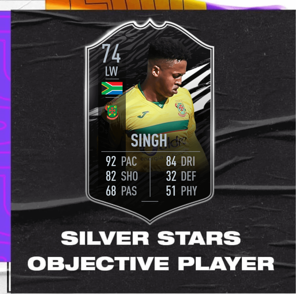 FIFA 21: Singh Silver Stars objective player