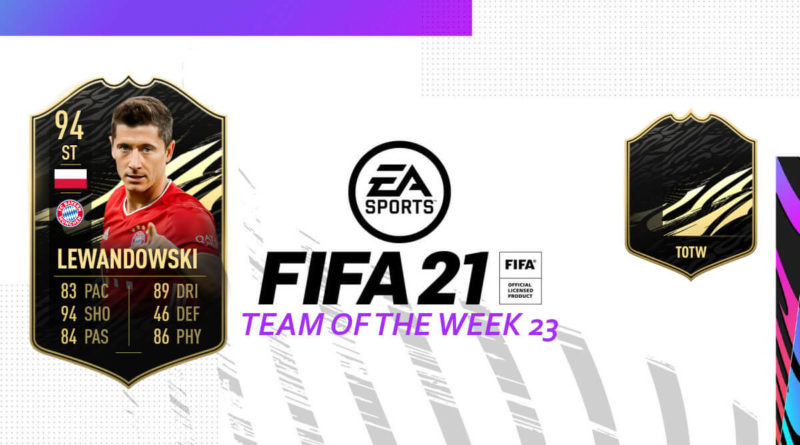 FIFA 21: Team of the Week 23