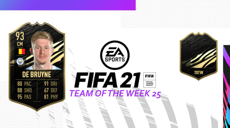 FIFA 21: Team of the Week 25