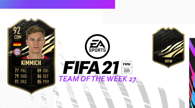 FIFA 21: Team of the Week 27