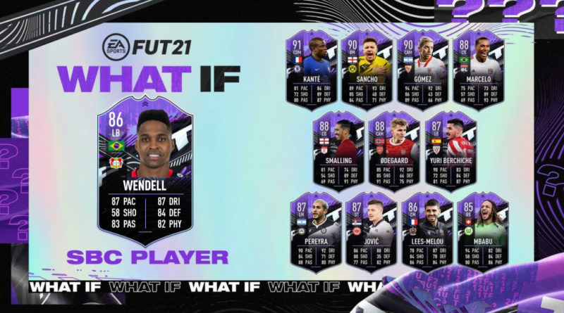FIFA 21: Wendell What IF SBC