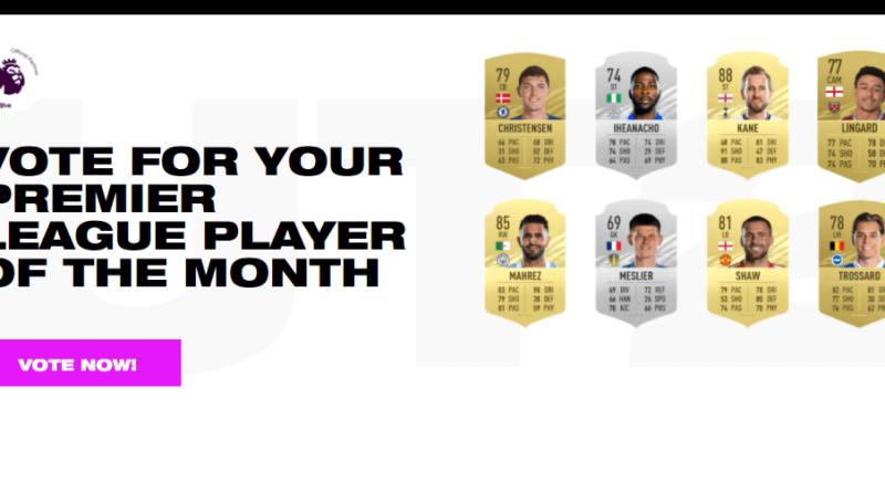 FIFA 21: candidati POTM di marzo in Premier League