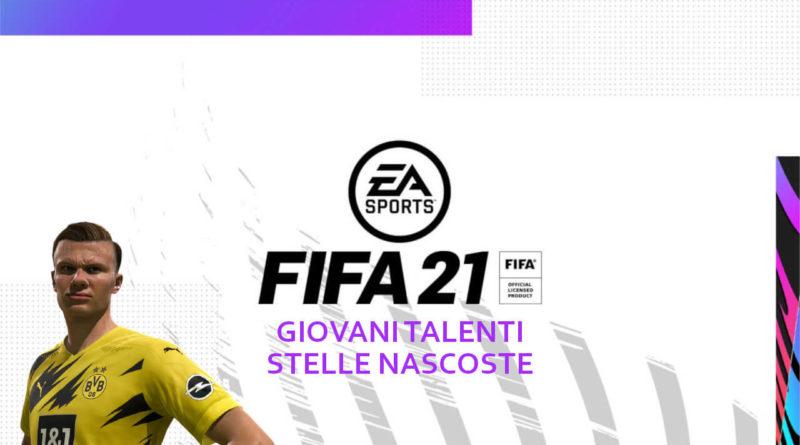 FIFA 21: giovani talenti e stelle nascoste
