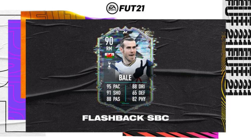 FIFA 21: Gareth Bale flashback SBC