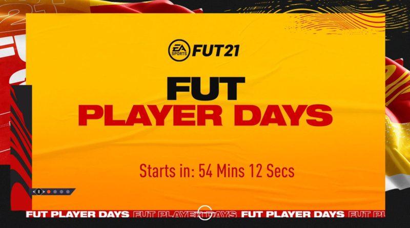 FIFA 21: FUT Player Days dal 9 aprile