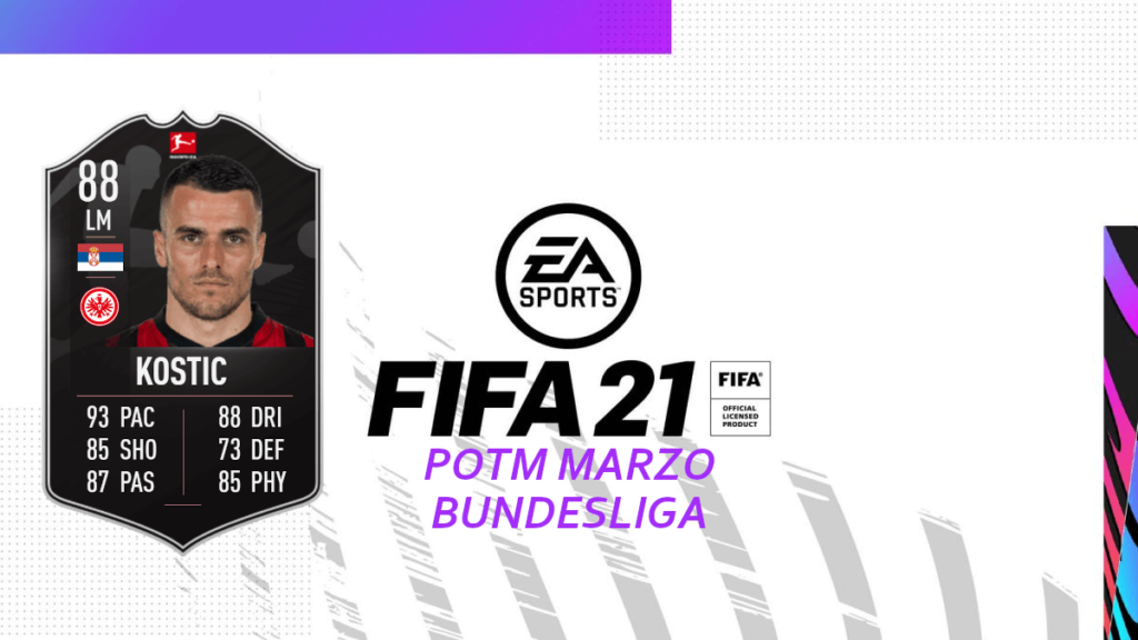 FIFA 21: SCR Filip Kostic Bundesliga POTM
