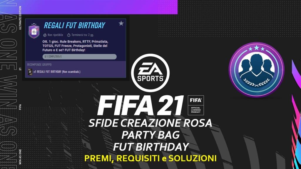 FIFA 21: SBC Party Bag FUT Birthday