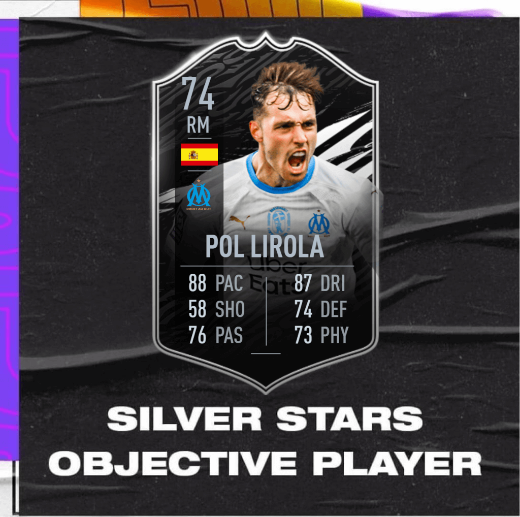 FIFA 21: Pol Lirola TOTW 30 silver stars player objective