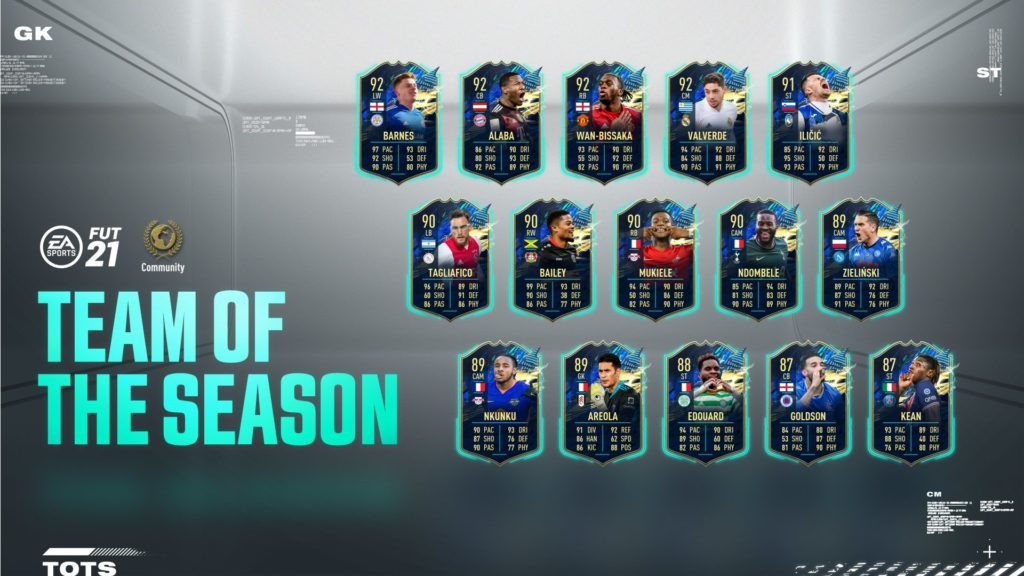 FIFA 21: Community Team of the Season