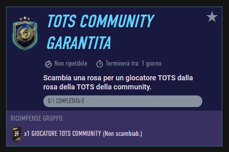 FIFA 21: SBC TOTS Community garantito