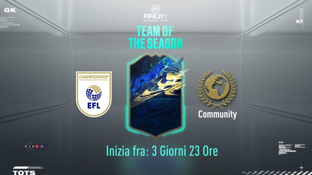 FIFA 21: EFL e Community TOTS