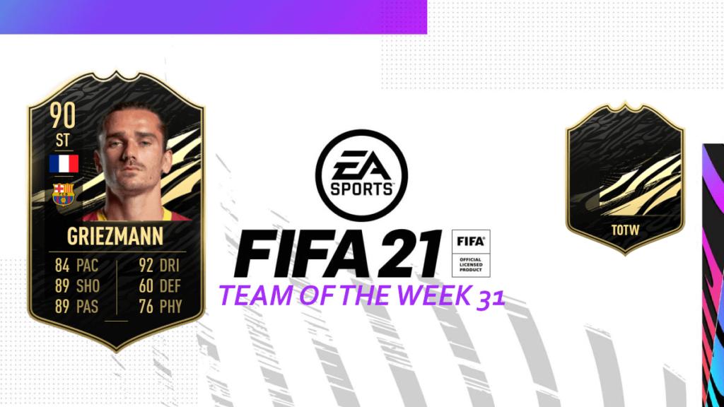 FIFA 21: Team of the Week 31