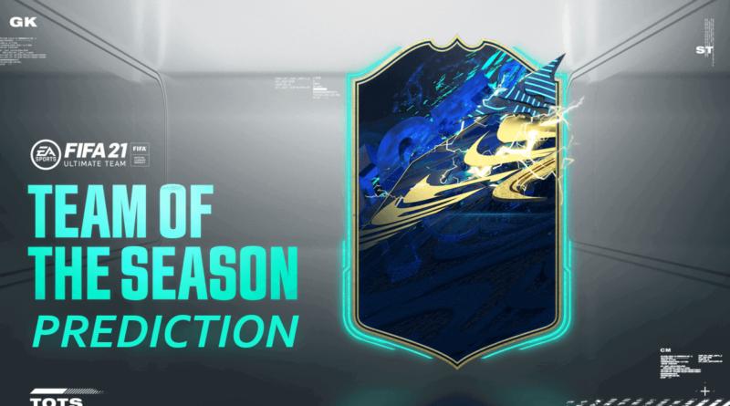 FIFA 21: Team of the Season prediction