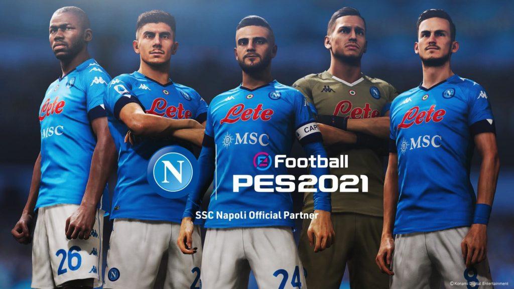 Licenza ufficiale del SSC Napoli su PES da FIFA 23