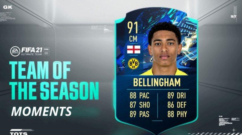 FIFA 21: SCR Bellingham TOTS Moments